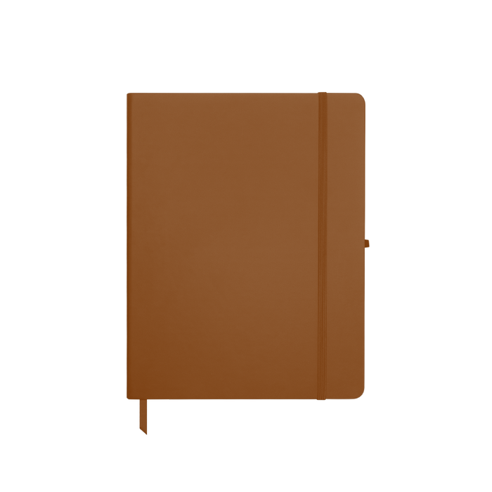 Tan Medium Soft Faux Leather Journal