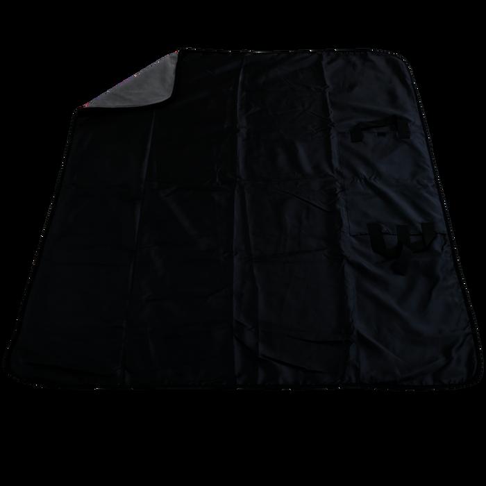 Gray Traveler Fleece Picnic Blanket