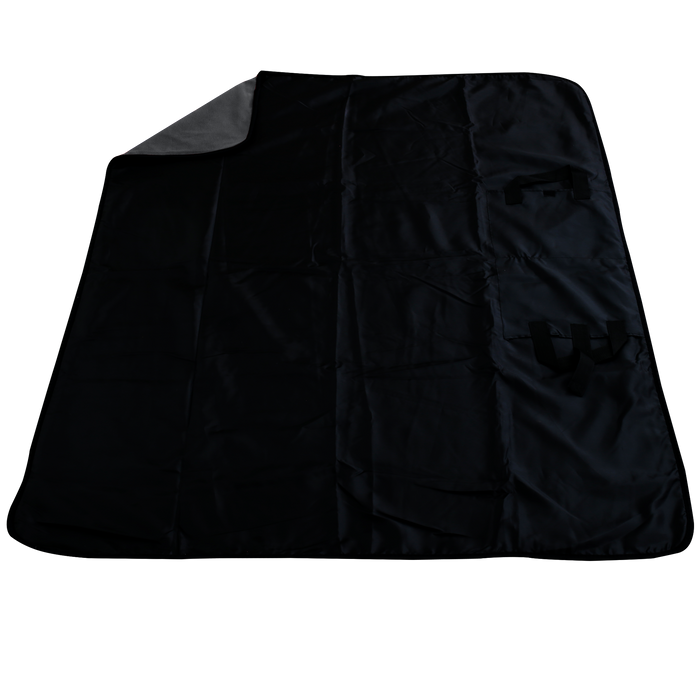 Charcoal Traveler Fleece Picnic Blanket