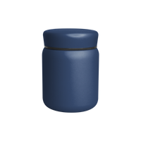 Matte Navy Stainless Steel Insulated Food Canister Thumb