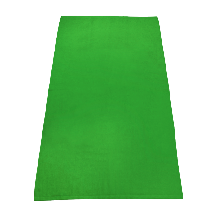 Lime Green Value Line Color Beach Towel