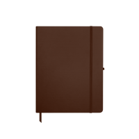 Brown Medium Soft Faux Leather Journal Thumb
