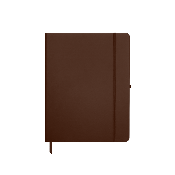 Brown Medium Soft Faux Leather Journal