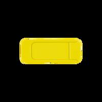 Yellow Sliding Webcam Cover Thumb