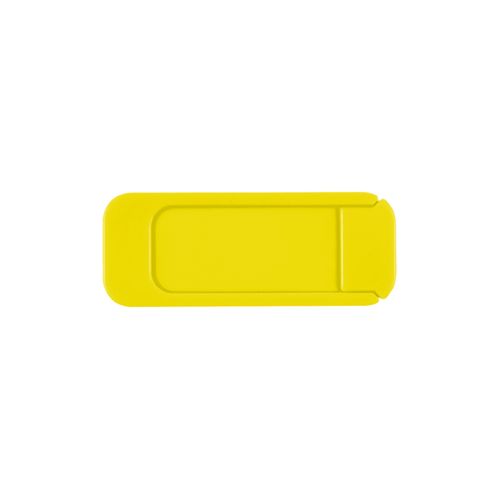 Yellow Sliding Webcam Cover