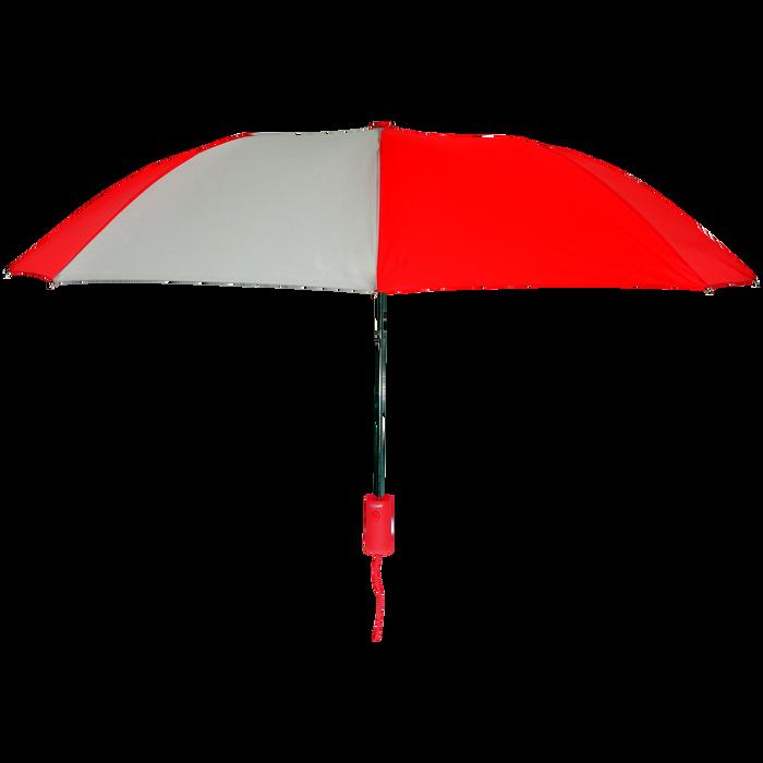 Red/Gray Polaris Umbrella
