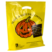 Yellow Pumpkin Halloween Bag Thumb