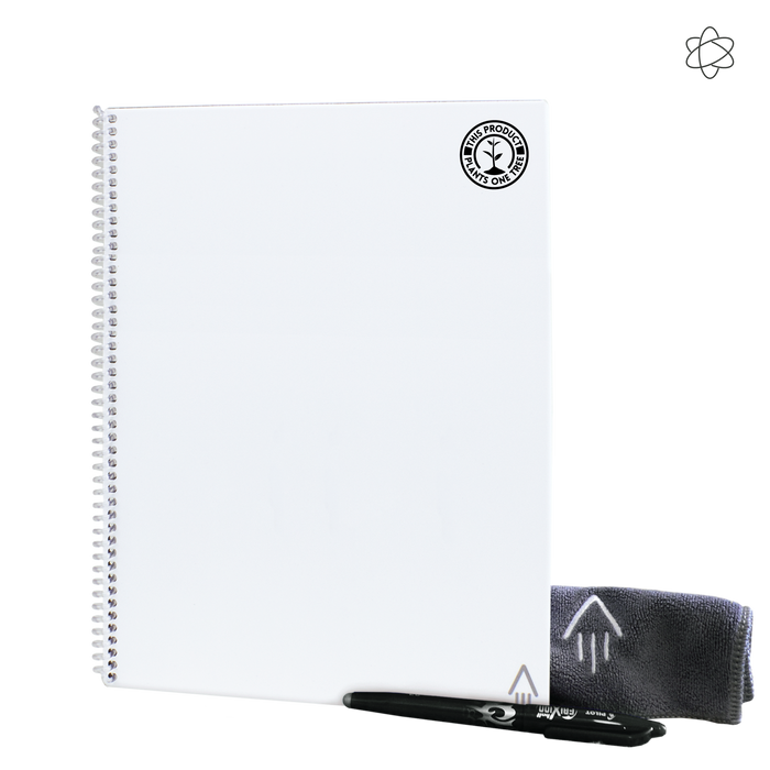 White #OneTreePlanted Rocketbook Fusion Letter