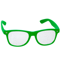Lime Green Vegas Sunglasses Thumb