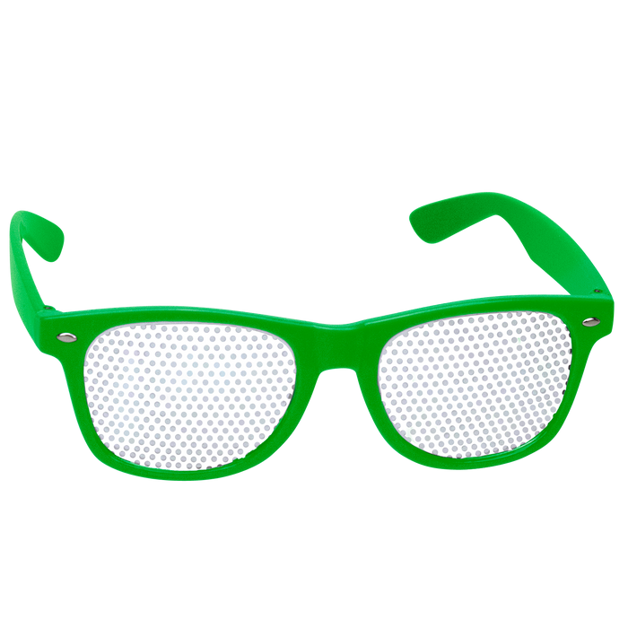 Lime Green Vegas Sunglasses