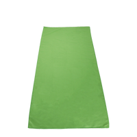Lime Green Microfiber Color Fitness Towel Thumb