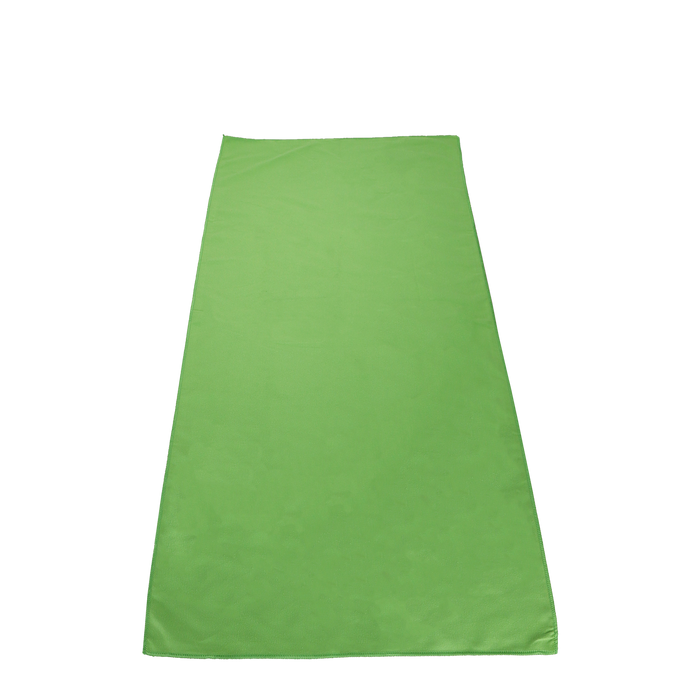 Lime Green Microfiber Color Fitness Towel
