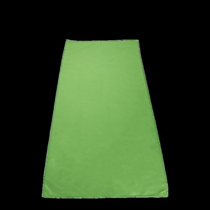 Lime Green Microfiber Color Fitness Towel