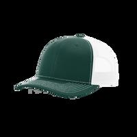 Dark Green/White Richardson Trucker Snapback Hat Thumb
