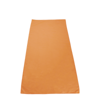 Orange Microfiber Color Fitness Towel Thumb