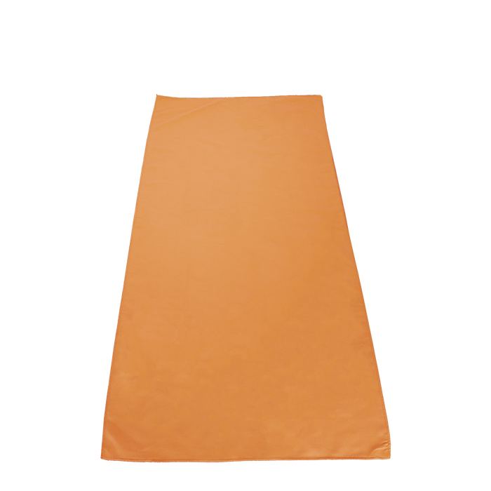 Orange Microfiber Color Fitness Towel
