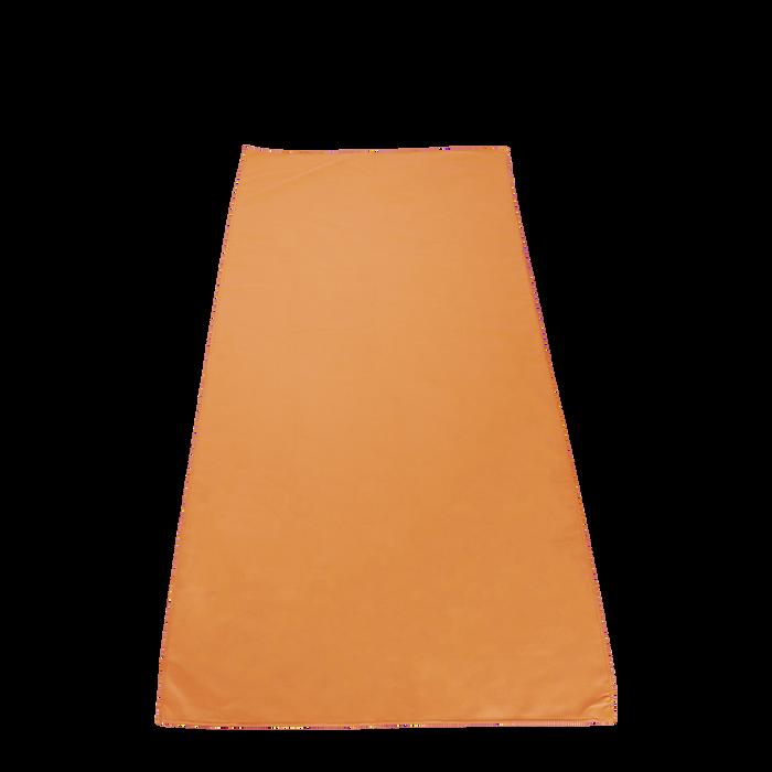 Orange Microfiber Color Fitness Towel