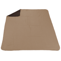 Tan/Chocolate (20535) Two Tone Euro Throw Thumb