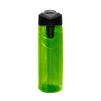 Pear Sport Water Bottle with Flip Up Straw Thumb