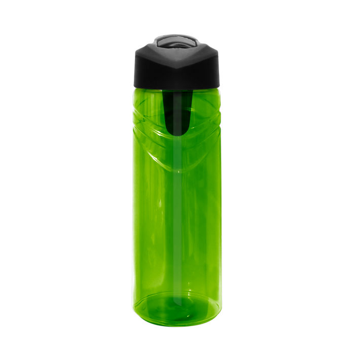 Pear Sport Water Bottle with Flip Up Straw