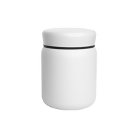 Matte White Stainless Steel Insulated Food Canister Thumb