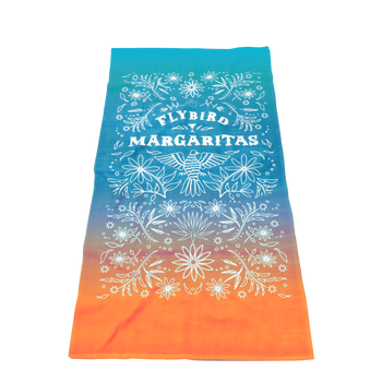 Value Full Color Print Beach Towel