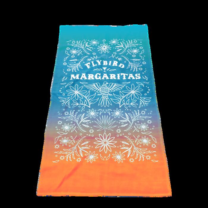 Value Full Color Print Beach Towel