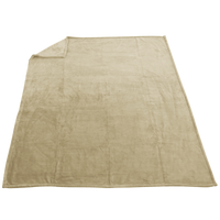 Beige Taos Microfleece Throw Thumb