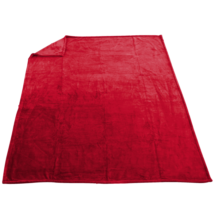 Red Taos Microfleece Throw