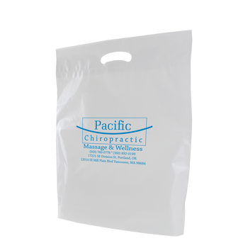 Large Eco-Friendly Die Cut Plastic Bag