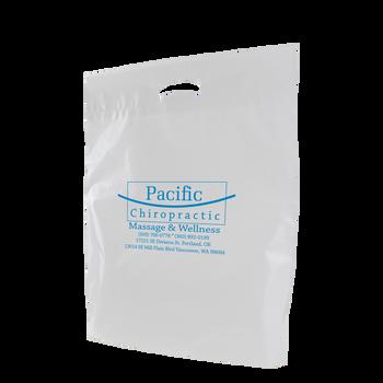 Large Eco-Friendly Die Cut Plastic Bag