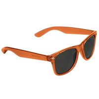 Transparent Orange Classic Color Sunglasses Thumb