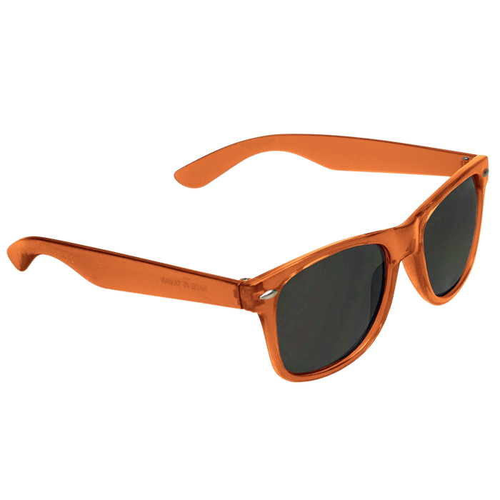 Transparent Orange Classic Color Sunglasses