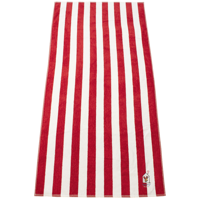 Latitude Plus Striped Beach Towel
