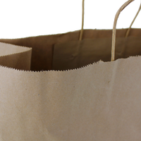 Large Kraft Paper Shopper Bag Thumb