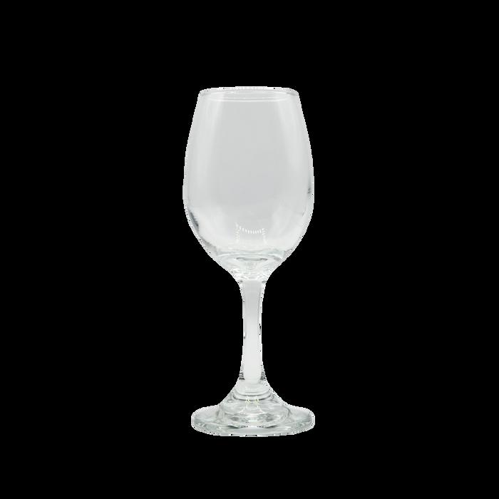 Clear Classic Wine Glass
