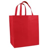 Red American Made Grocery Bag Thumb