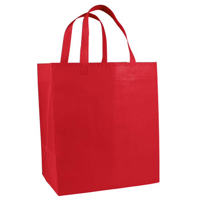 Red American Made Grocery Bag