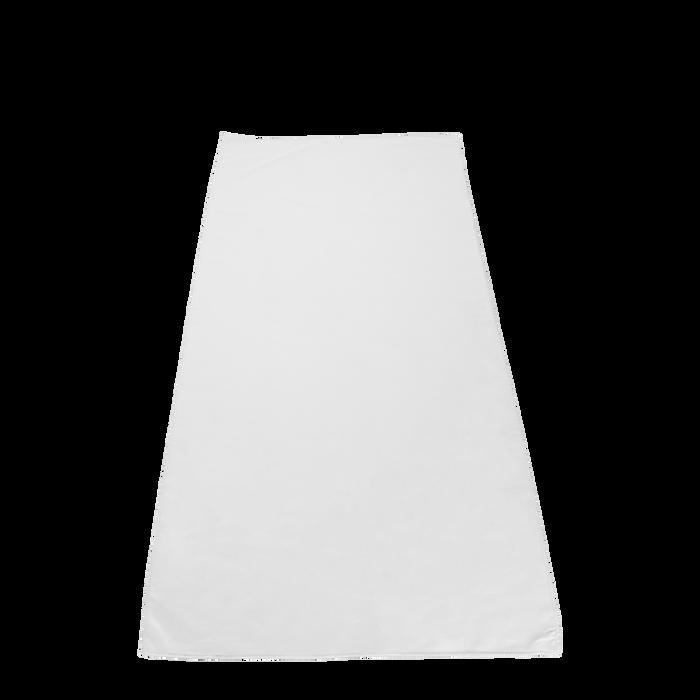 White Microfiber White Fitness Towel