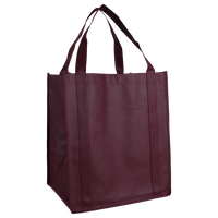 Burgundy Wine & Dine Reusable Tote Bag Thumb