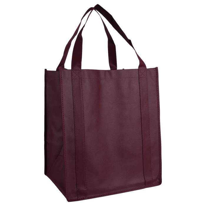 Burgundy Wine & Dine Reusable Tote Bag