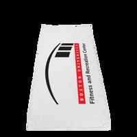 Microfiber White Fitness Towel Thumb
