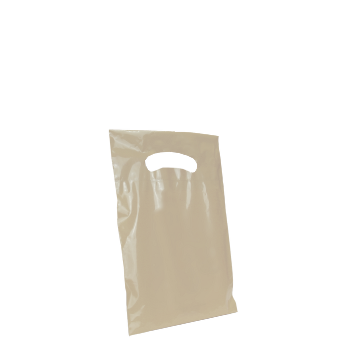 Ivory Extra Small Eco-friendly Die Cut Plastic bag