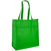 Lime Green Little Tex Grocery Bag Thumb