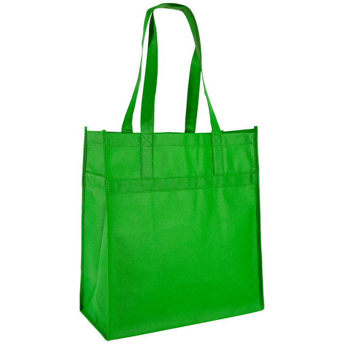 Lime Green Little Tex Grocery Bag