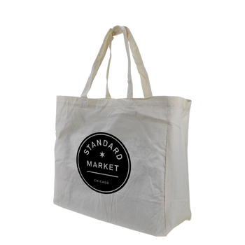 Cotton Canvas Little Storm Grocery Bag