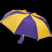 Purple/Gold Classic Umbrella Thumb