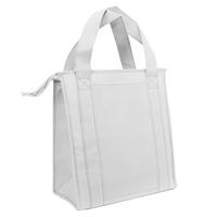 White Standard Insulated Cooler Tote Thumb