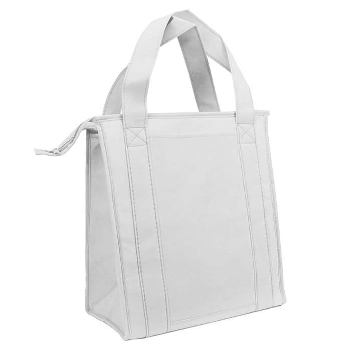 White Standard Insulated Cooler Tote