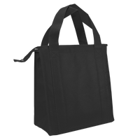 Black Standard Insulated Cooler Tote Thumb
